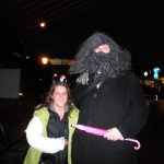 shrubbery and Markyy (as Hagrid)